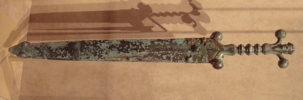 Celtycki miecz, około 60 roku przed naszą erą (fot. PHGCOM na licencji Creative Commons Attribution-Share Alike 3.0 Unported)
