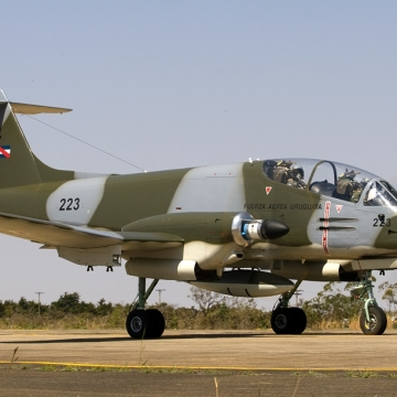 IA-58_Pucará_of_Urguayan_Air_Force_(11107780314)