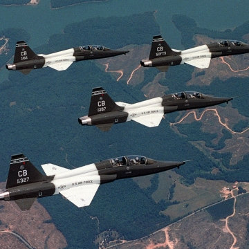 T-38C_Formation