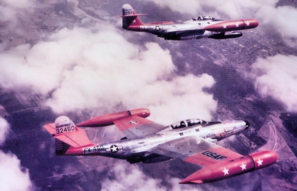 Northropy F-89D Scorpiony z 59. Eskadry Myśliwców Przechwytujących (fot. US Air Force)