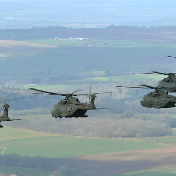 846 NAVAL AIR SQUADRON COMES HOME TO SOMERSET