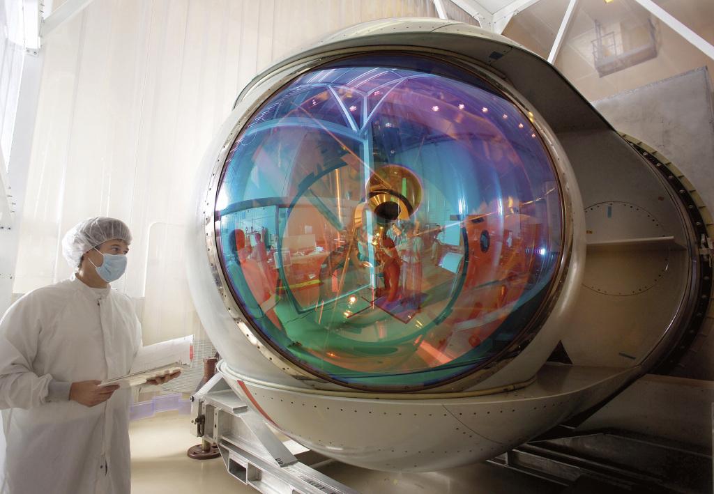 "Airborne Laser Turret – ""lufa"" działa laserowego zainstalowanego na YAL-1 (fot. Lockheed Martin)"