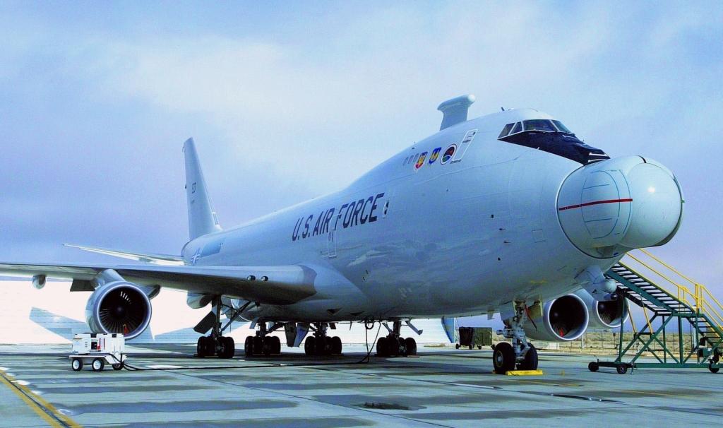 YAL-1 w Wichicie (fot. USAF / Master Sgt. James Graham)