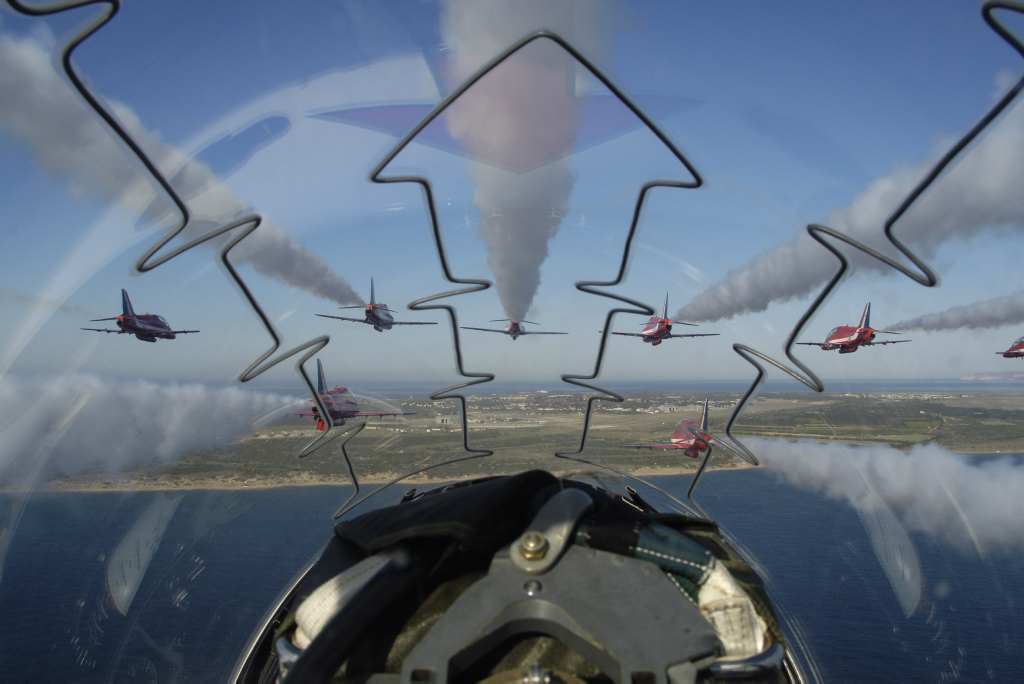 Opodal RAF Akrotiri (fot. Cpl Alex Scott / RAF / Open Government License)