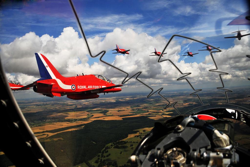 Gdzieś nad Szkocją (fot. Cpl Andy Benson / RAF / Open Government License)