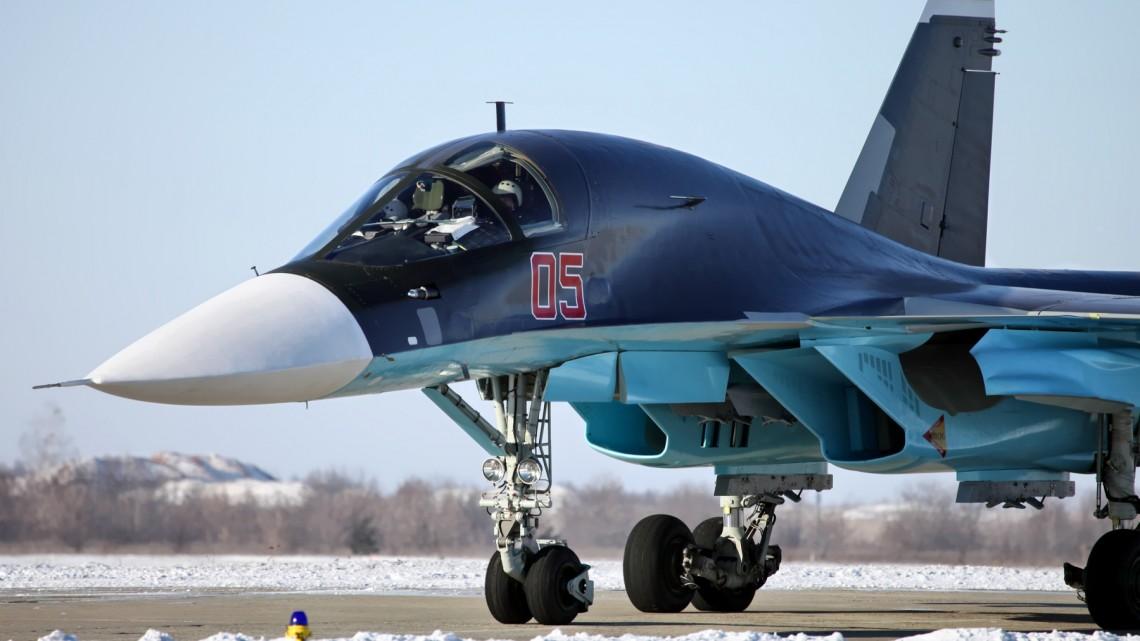 Algieria Su-34 | Konflikty.pl