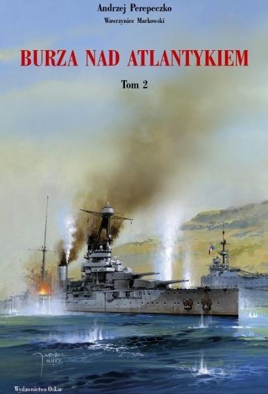 Andrzej Perepeczko, Wawrzyniec Markowski – Burza nad Atlantykiem. Wydawnictwo Oskar, 2015. ISBN: 978-83-63709-77-8.