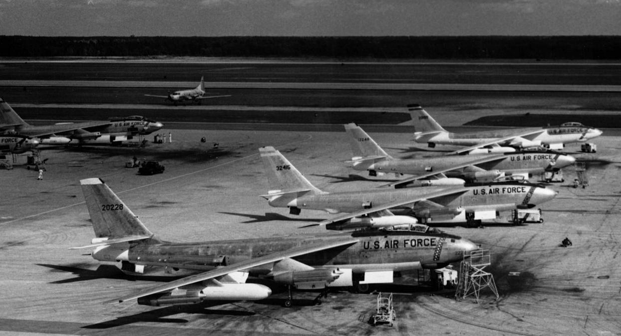 B-47E był najpowszechniejszą odmianą Stratojeta (fot. US Air Force)