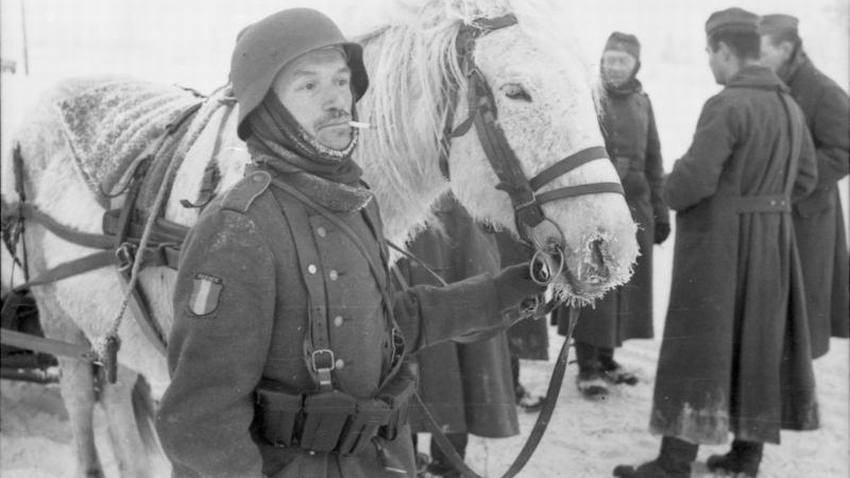 Russland, Soldaten der französischen Legion