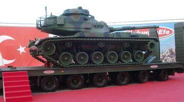 turcja modernizacja czołgów