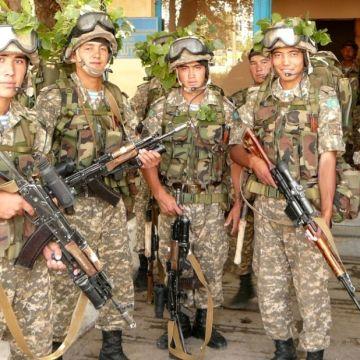 kazachstan wojsko