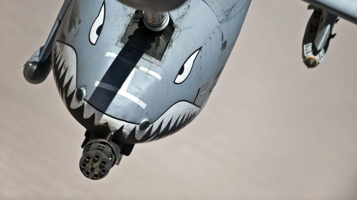 islamiści strącili A-10 nad Syrią?