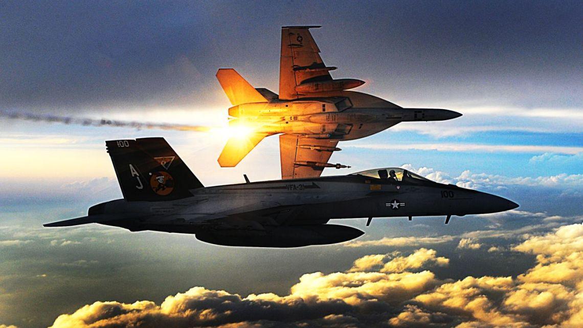 F/A-18E/F dron Perdix