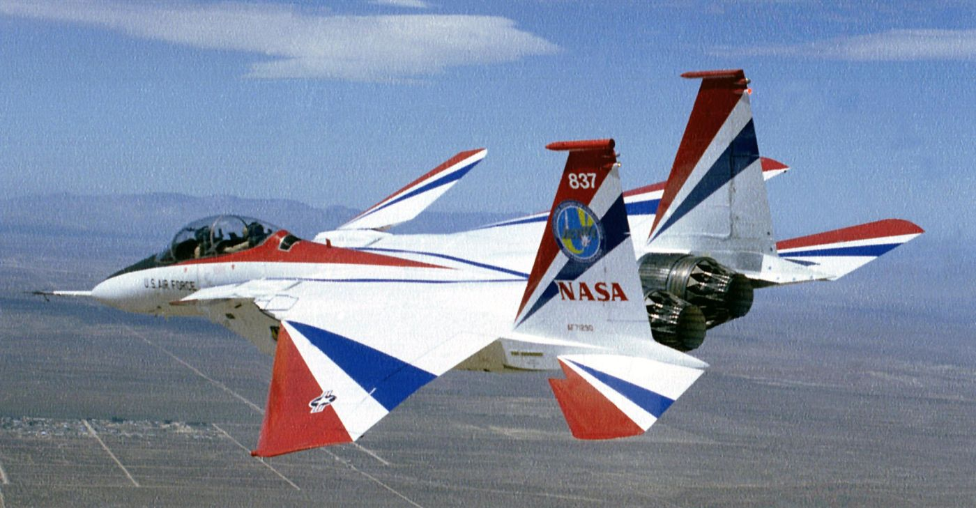F-15 ACTIVE w 1996 roku (fot. Lori Losey, NASA)
