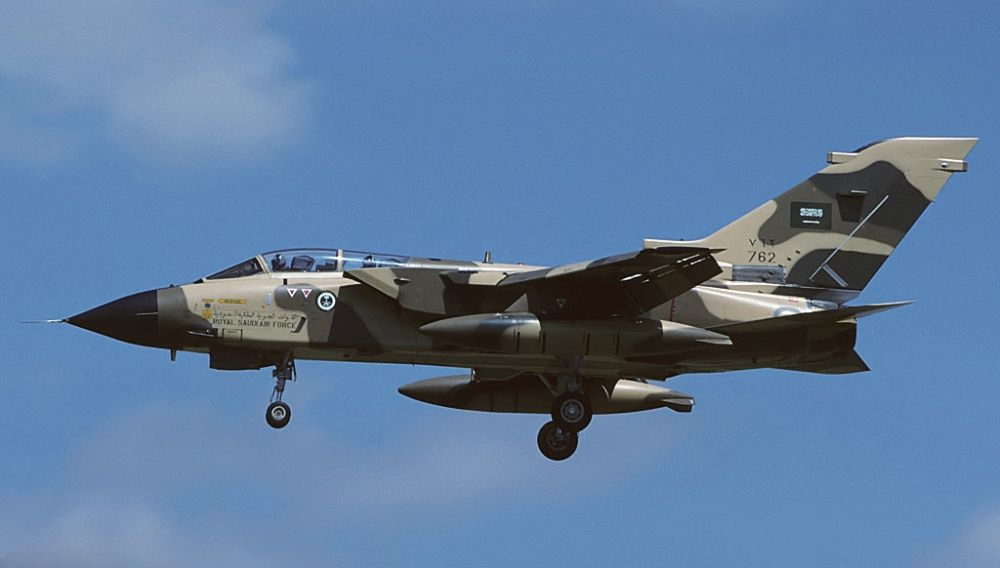 Saudyjskie Tornado zestrzelone nad Jemenem