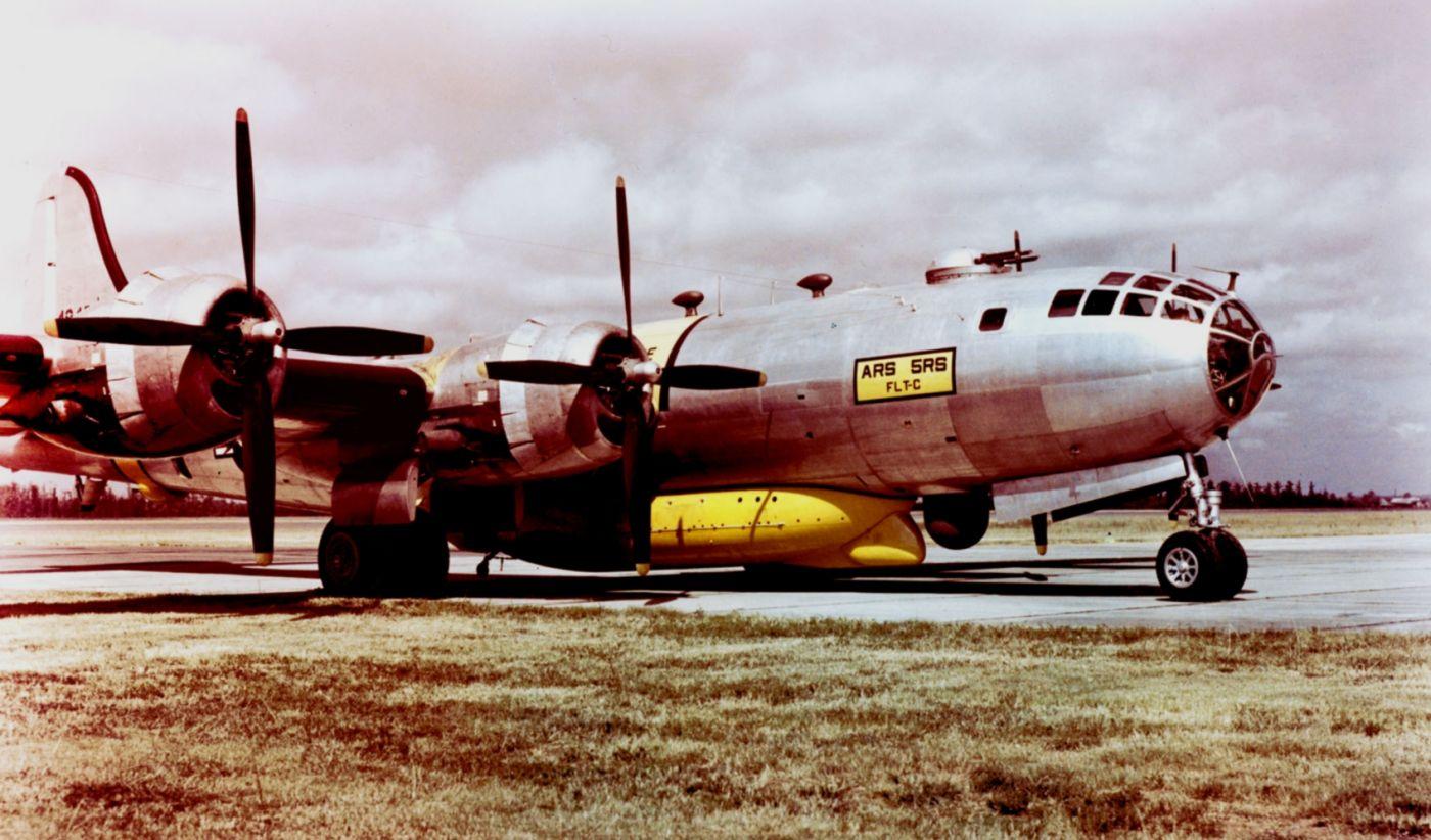 SB-29 w czasie wojny koreańskiej (fot. US Air Force)