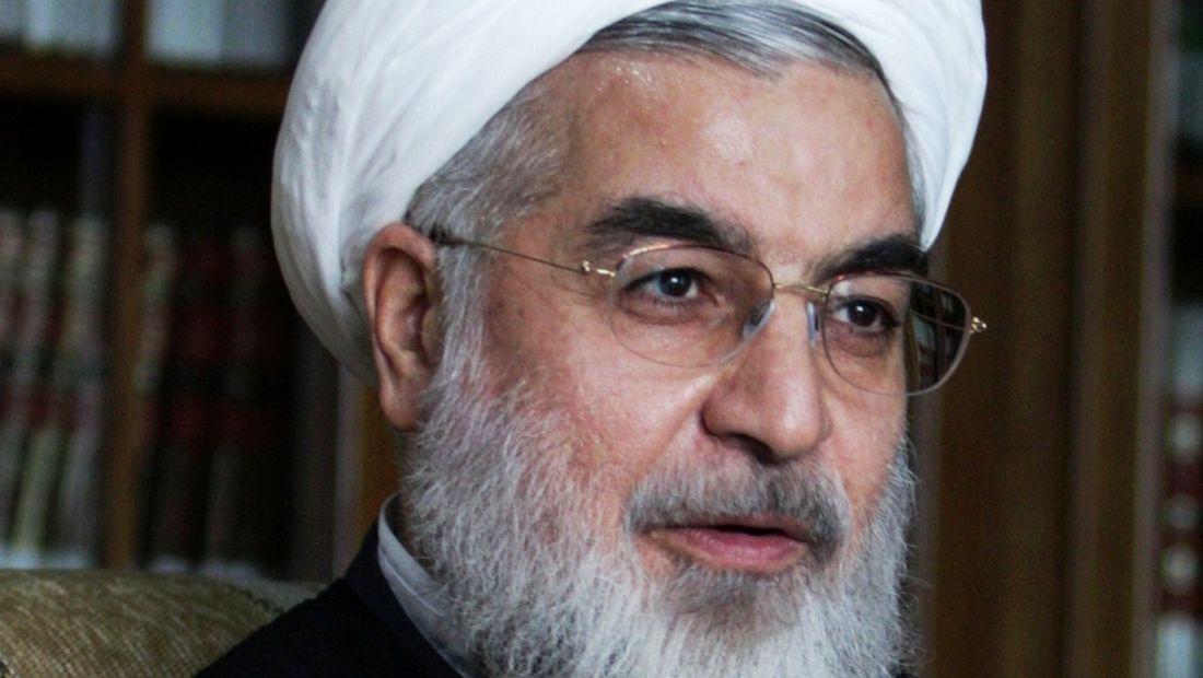 Prezydent Rouhani