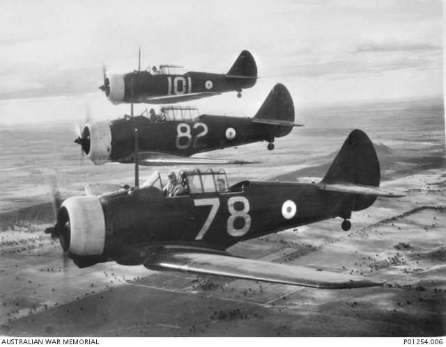 Wirrawaye nad południowo-wschodnią Australią (fot. Australian War Memorial)