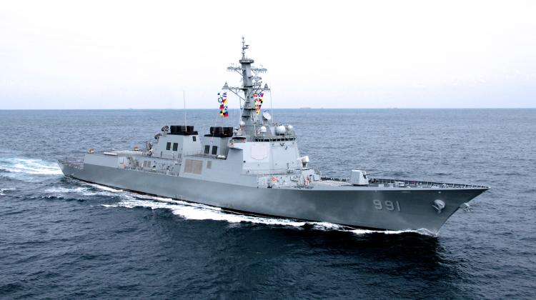 Przetarg na nowe niszczyciele KDDX dla Korei Południowej