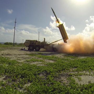 U.S. Missile Defense Agency photo, domena publiczna