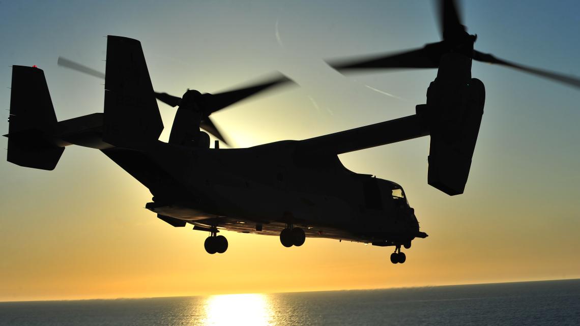 Osprey jako AWACS