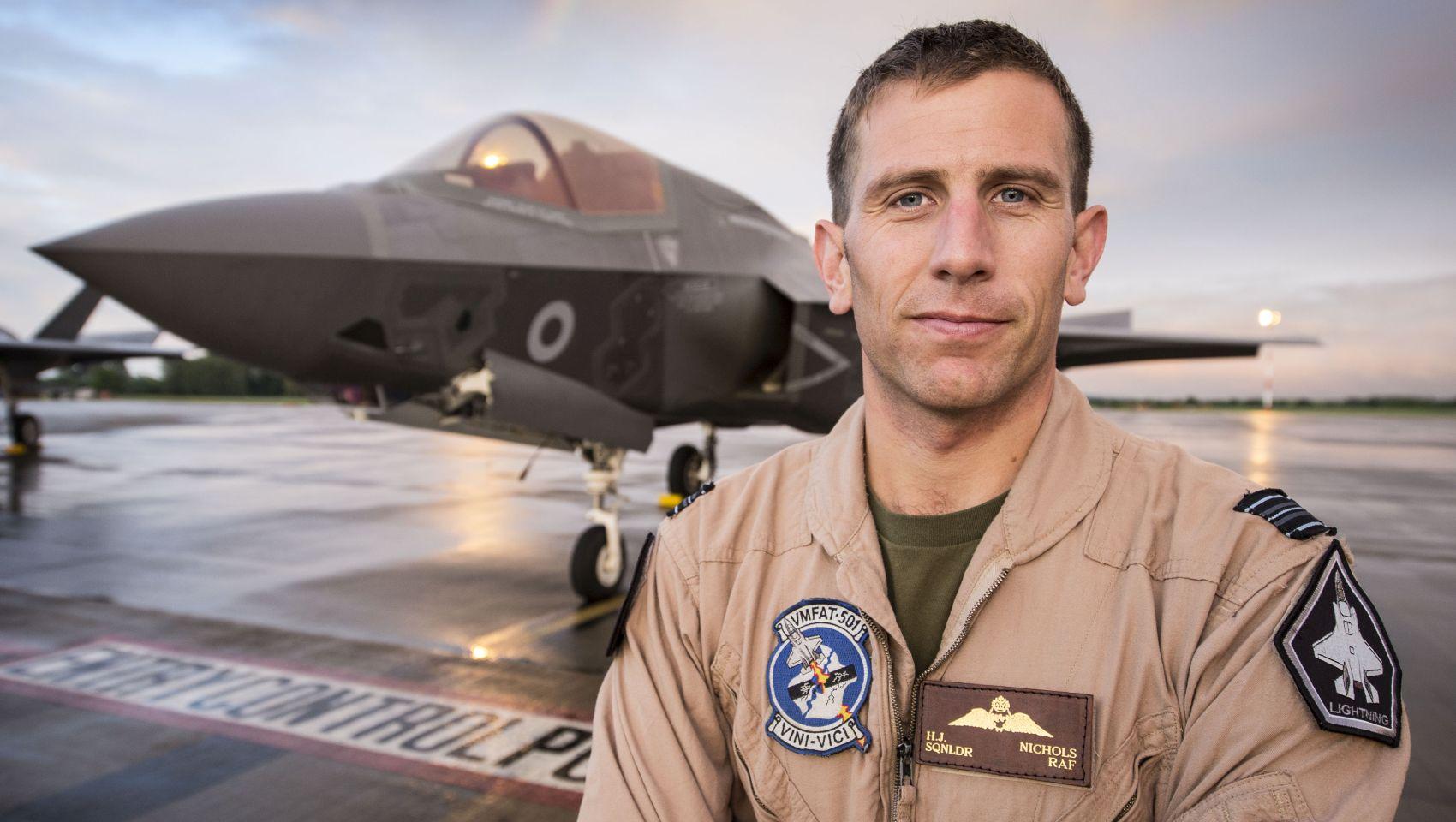Hugh Nichols F-35 Lightning Wielka Brytania