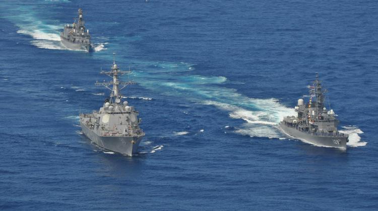 U.S. Navy photo by Aviation Warfare Systems Operator 3rd Class Shane Miller