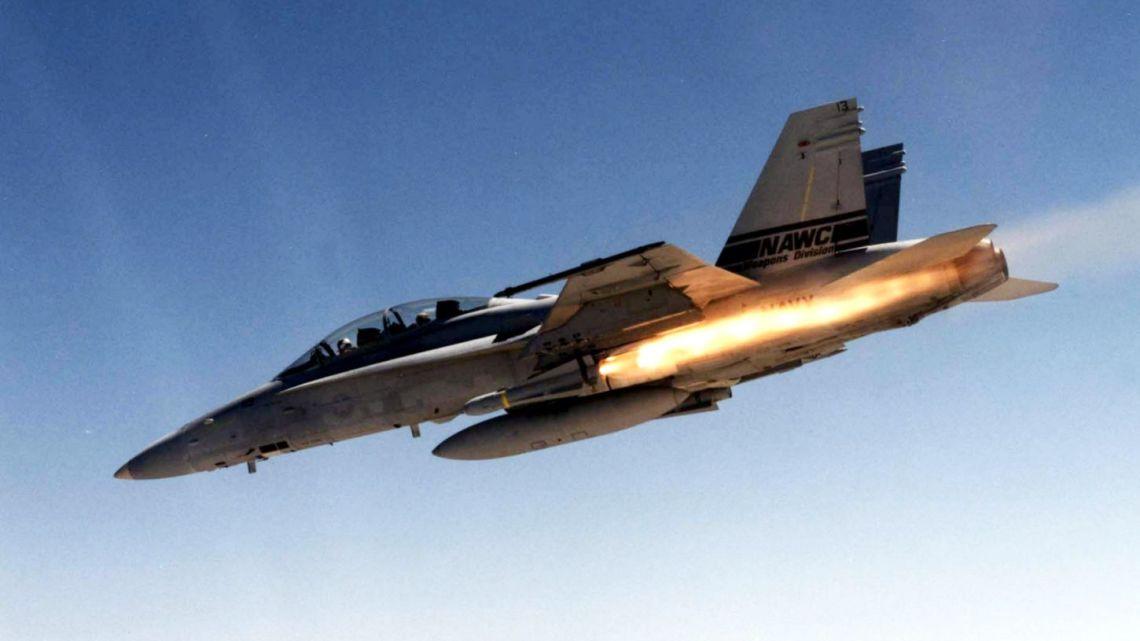 f/A-18d night attack hornet