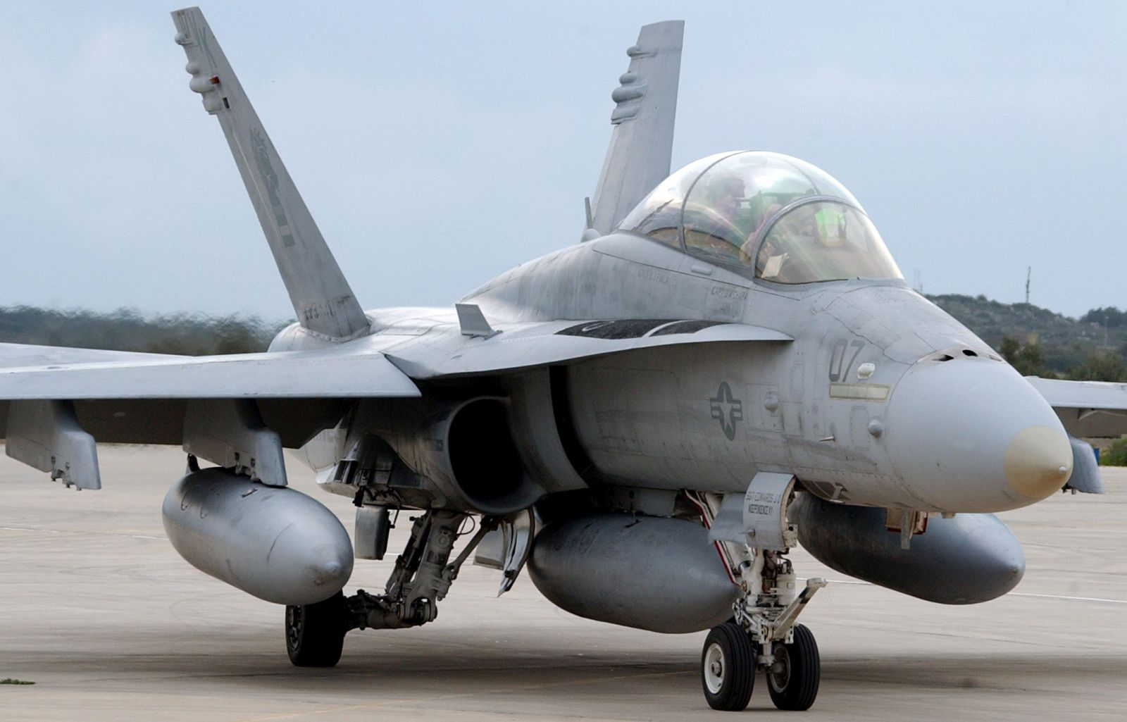 F/A-18D z eskadry VMFA-121 (fot. US Navy / Paul Farley )