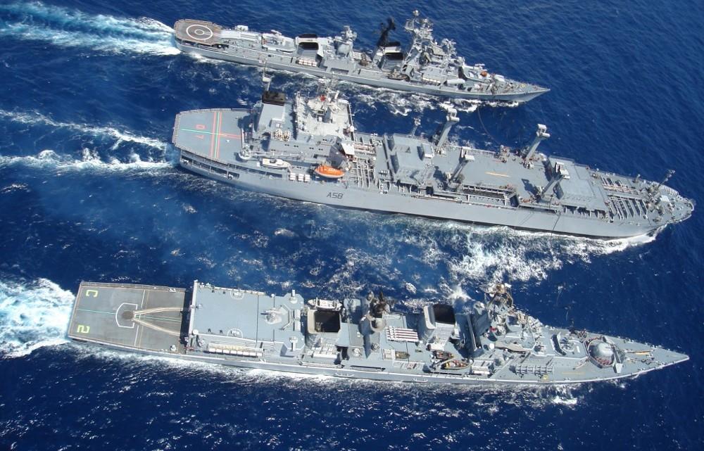 TROPEX 2017 największe ćwiczenia indyjskiej floty