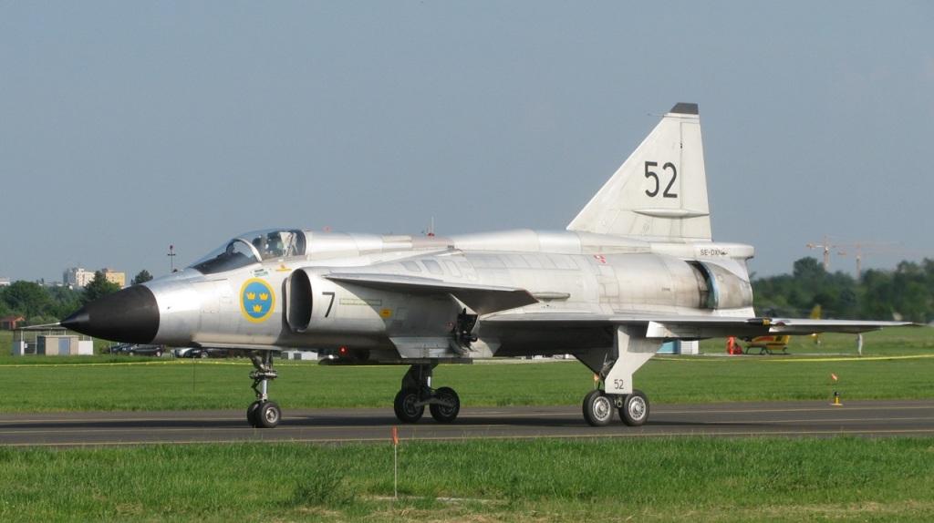 Viggen Szwecja SR-71 medale