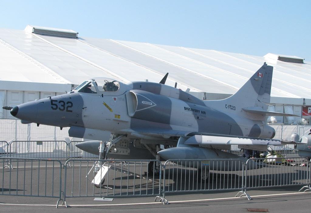 A-4N Skyhawk (fot. Maciej Hypś, Konflikty.pl)