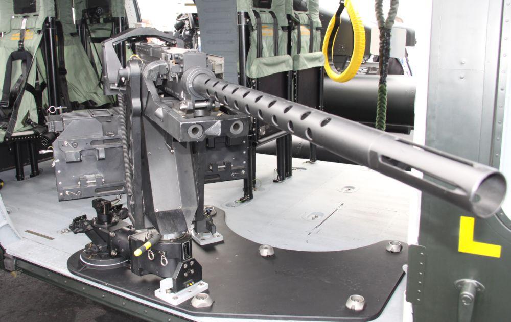 Karabin maszynowy FN kalibru 12,7 milimetra (fot. Łukasz Golowanow)