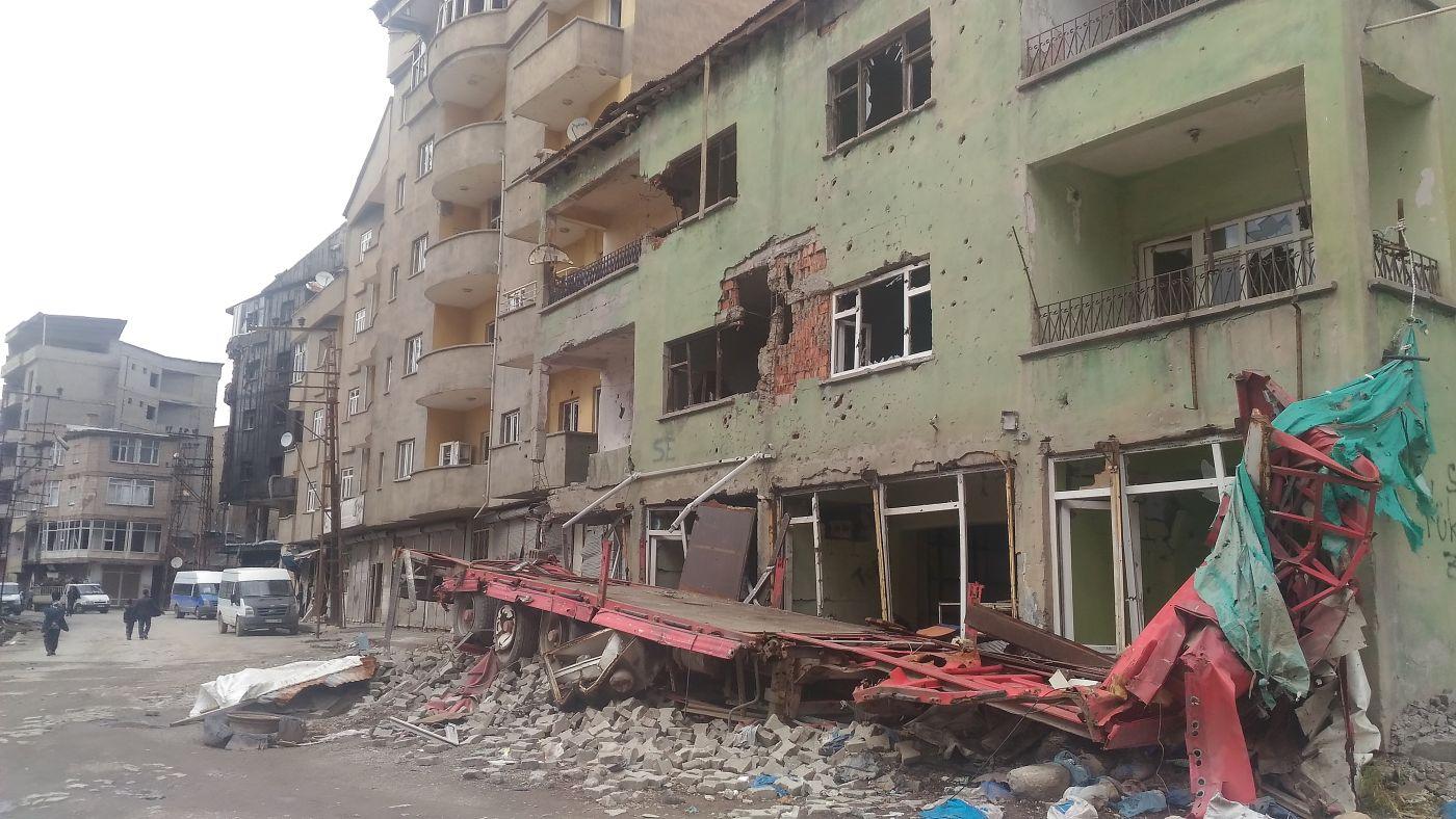 Tureckie miasto Hakkâri leżące w najbardziej niespokojnej części Turcji, w pobliżu granicy z Irakiem (fot. Nedim Yılmaz, Creative Commons Attribution-Share Alike 2.0 Generic)
