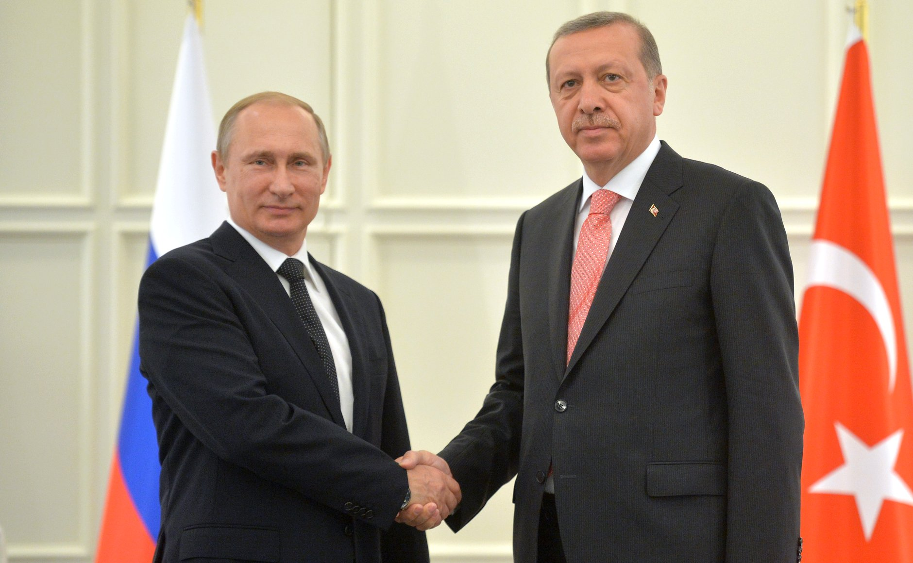 Spotkanie Erdoğan–Putin w czerwcu 2015 roku (fot. Kremlin.ru, Creative Commons Attribution 4.0 International)