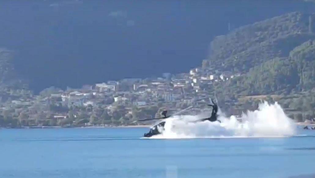 grecki AH-64 rozbił się