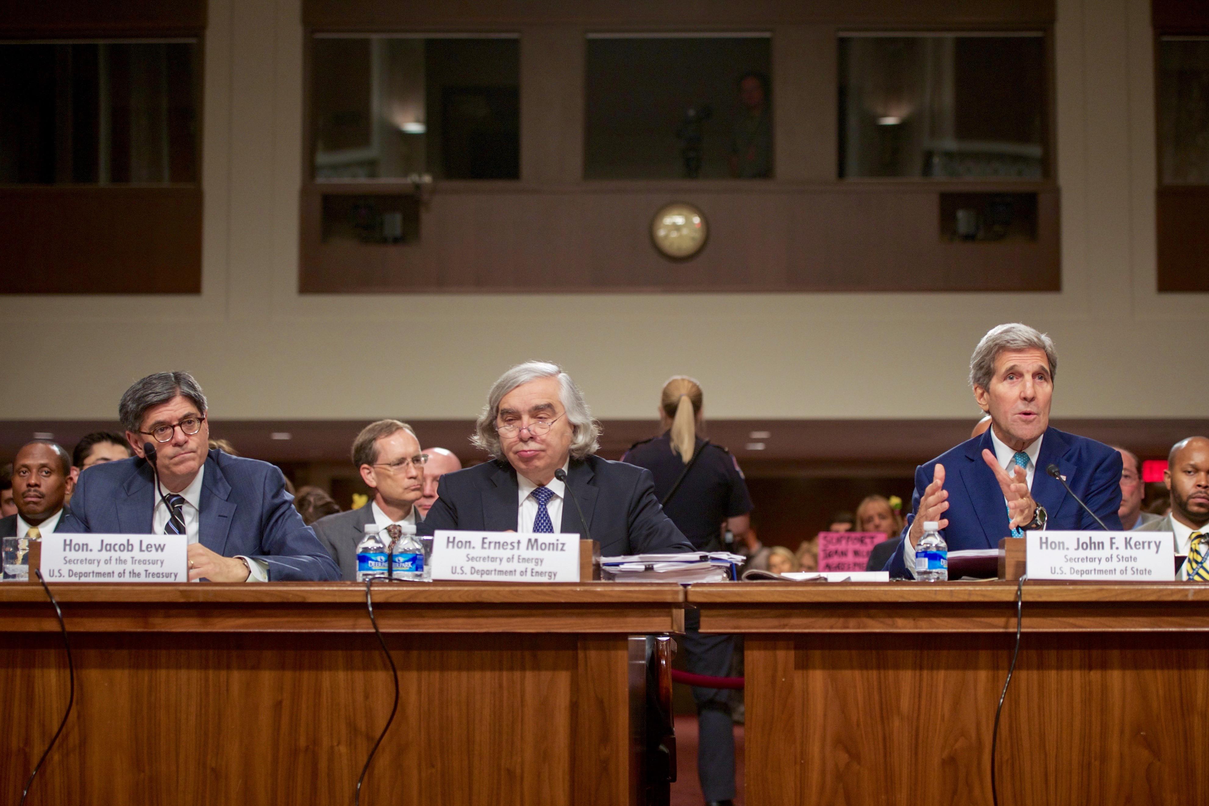 Trzej sekretarze gabinetu Baracka Obamy zeznają przed komisją senacką w sprawie JCPOA (U.S. Department of State)