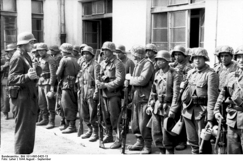 własowcy powstanie warszawskie