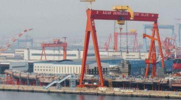 zwodowano lotniskowiec Shandong