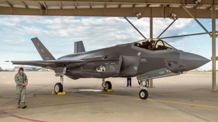 naprawiono zbiorniki paliwa F-35