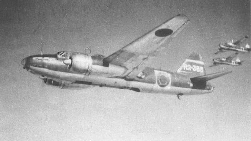 Bombowce Mitsubishi G4M3 Model 34