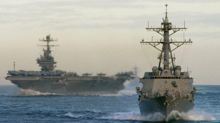 liczba okrętów US Navy