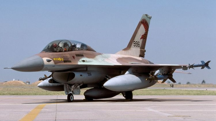 izrael koniec służby f-16