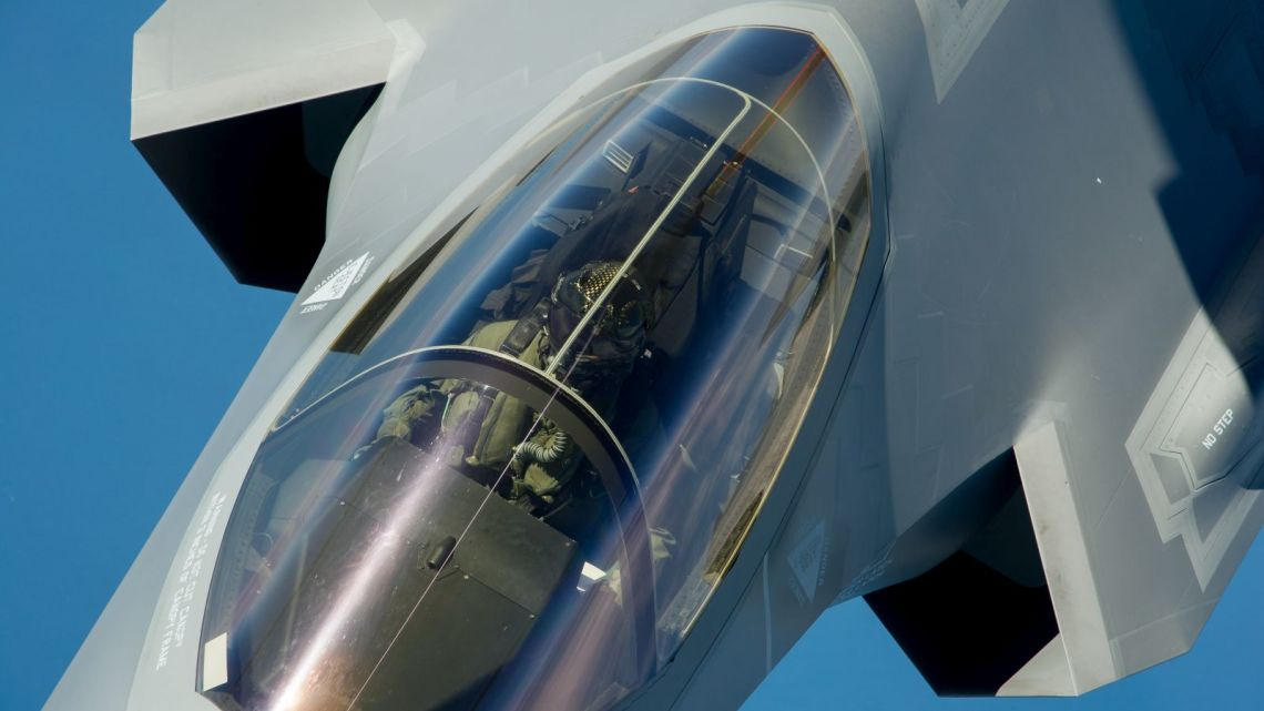 pierwsze f-35 izrael