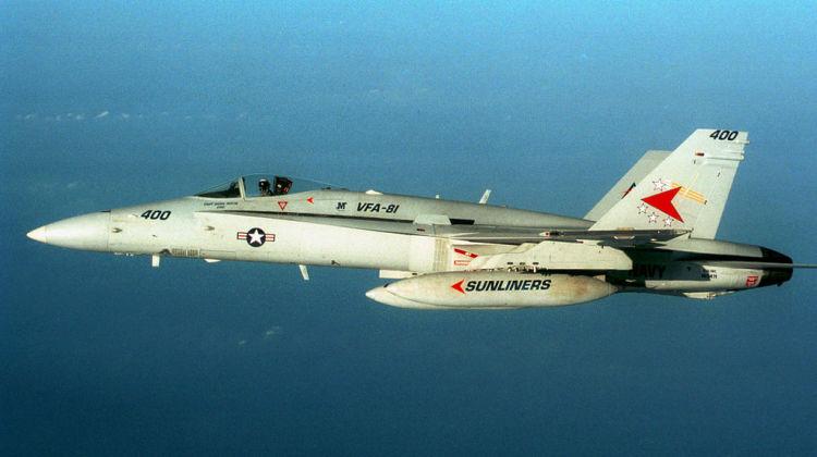 Hornet kontra MiG-25