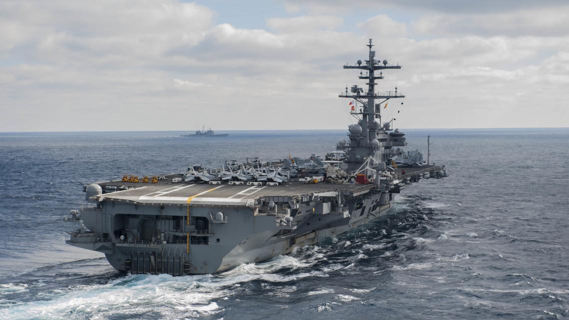 lotniskowce us navy zatoka perska