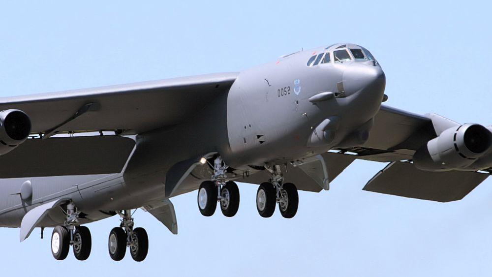 B-52 Stratofortress zgubił silnik