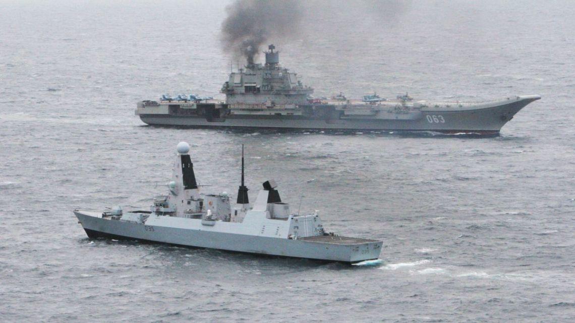 admirał kuzniecow eskorta