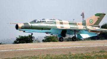 nigeryjski samolot zbombardował obóz uchodźców