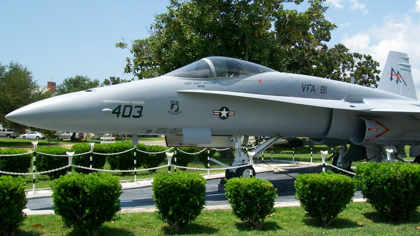 Hornet kontra MiG-25 – Hornet jako pomnik upamiętniający Speichera